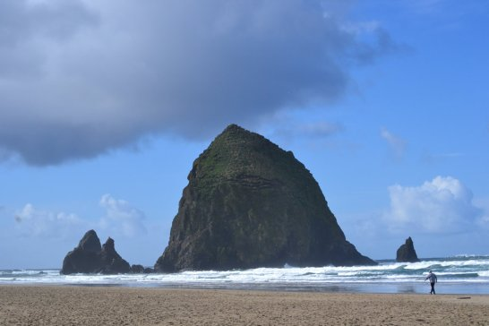 Haystack Rock in nearby Cannon Beach, OR.
