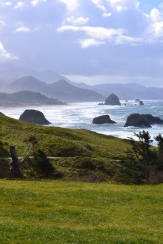 This view from Ecola State Park in Cannon Beach, OR. is nothing short of magical! I could've stayed here all day.