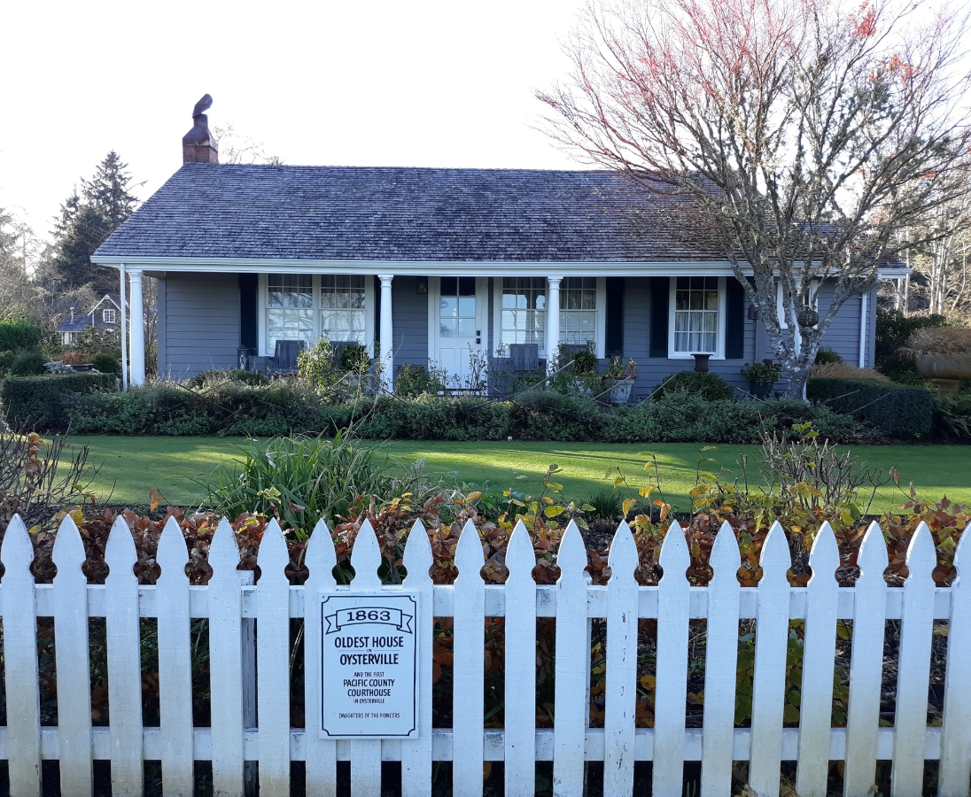 The oldest house in Oysterville