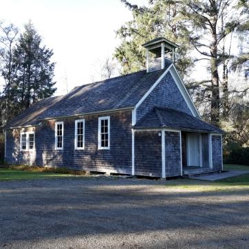 The original one-room schoolhouse